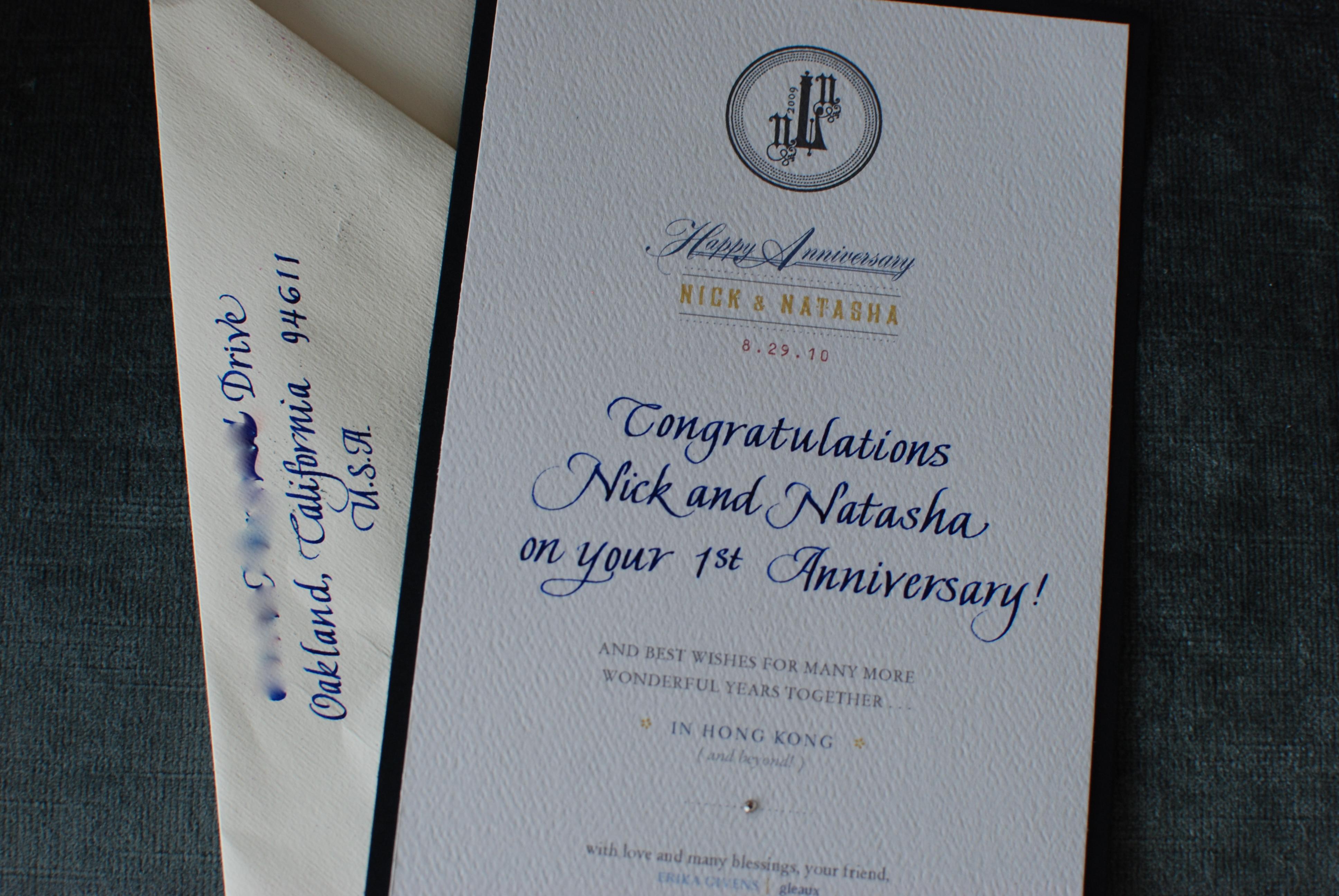 Incredible Anniversary Card