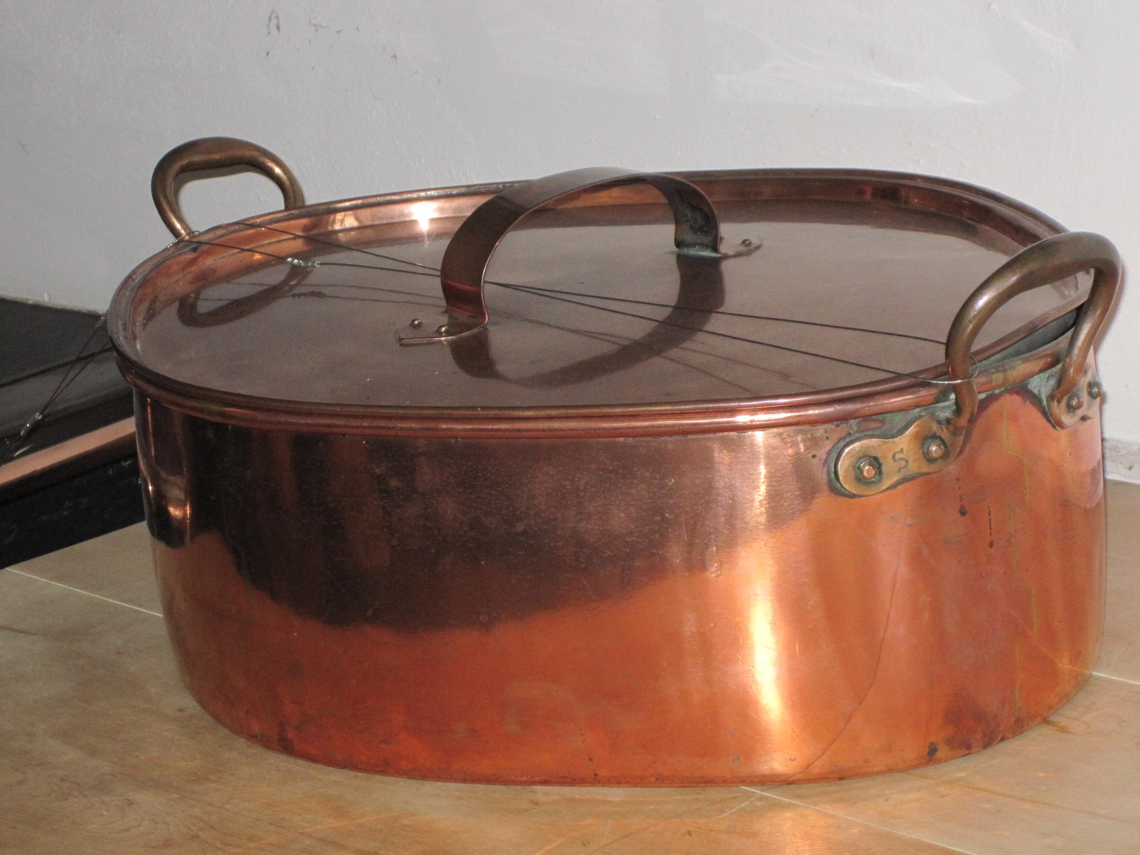 Copper Pots In A Castle